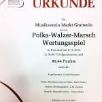 Polka-Walzer-Marsch Wertungsspiel 2015